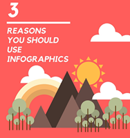 3 Reasons Why You Should Use Infographics